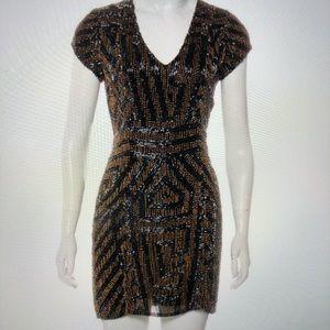 Parker embellished mini dress